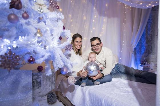 Weihnachtsfotos in Wien