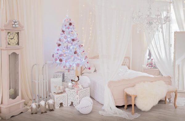 Weihnachtsdekoration im Whitewood Studio