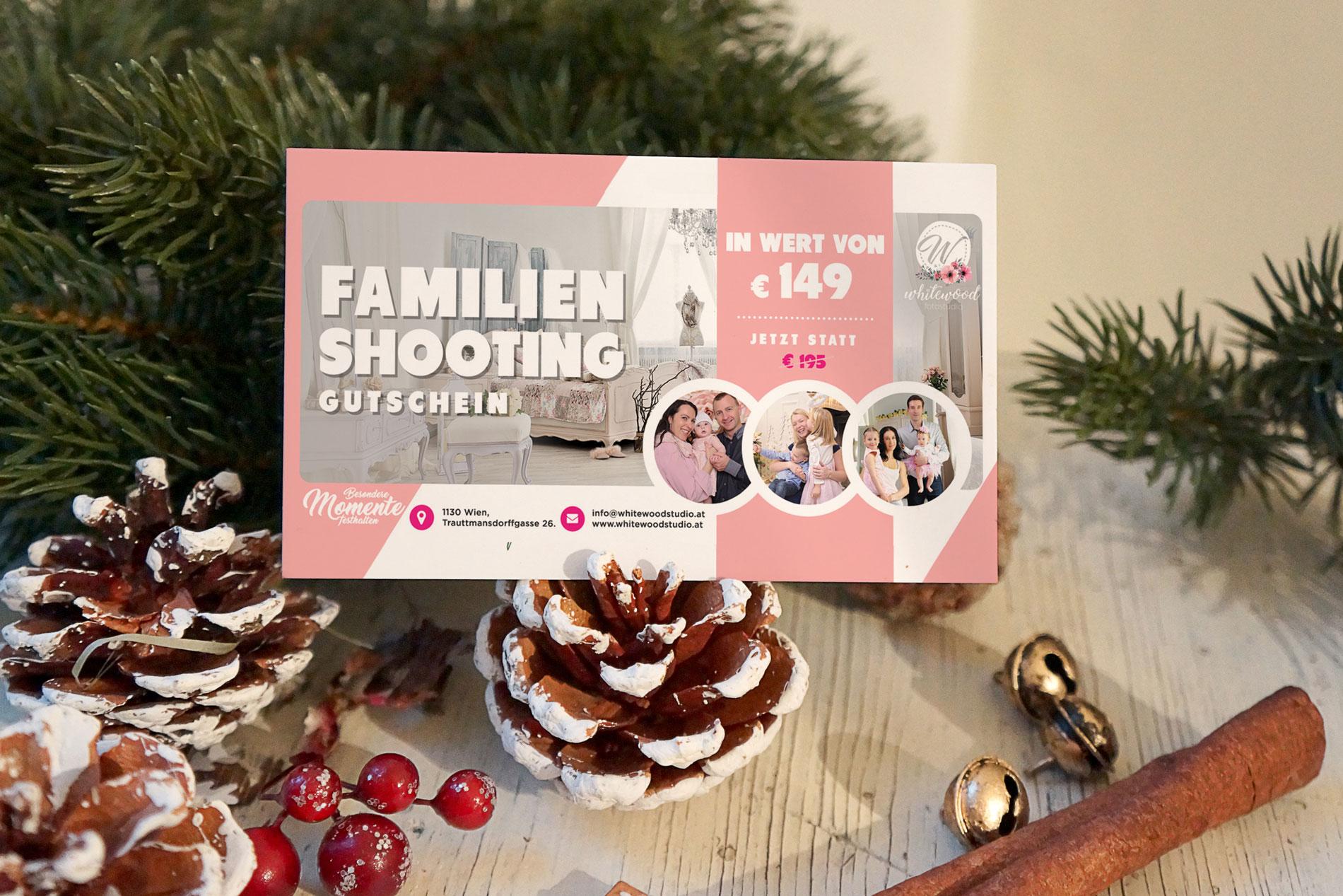 Familienshooting - Gutschein Wien