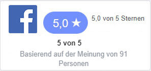 Facebook Bewertungen