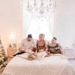 Weihnachtsshooting in Wien Familienfotos