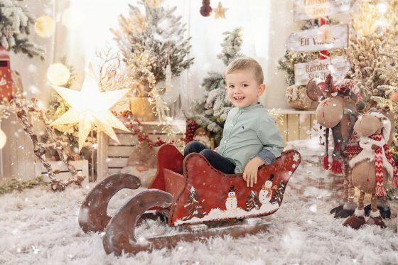 Weihnachtsfotoshooting Wien