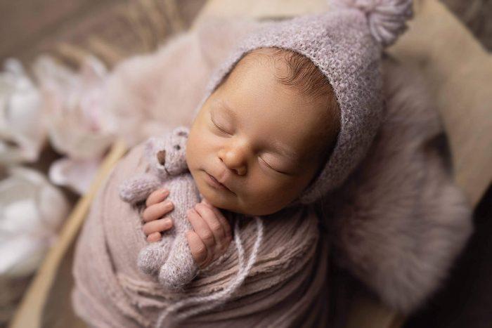 newborn shooting in wien - neugeborenen