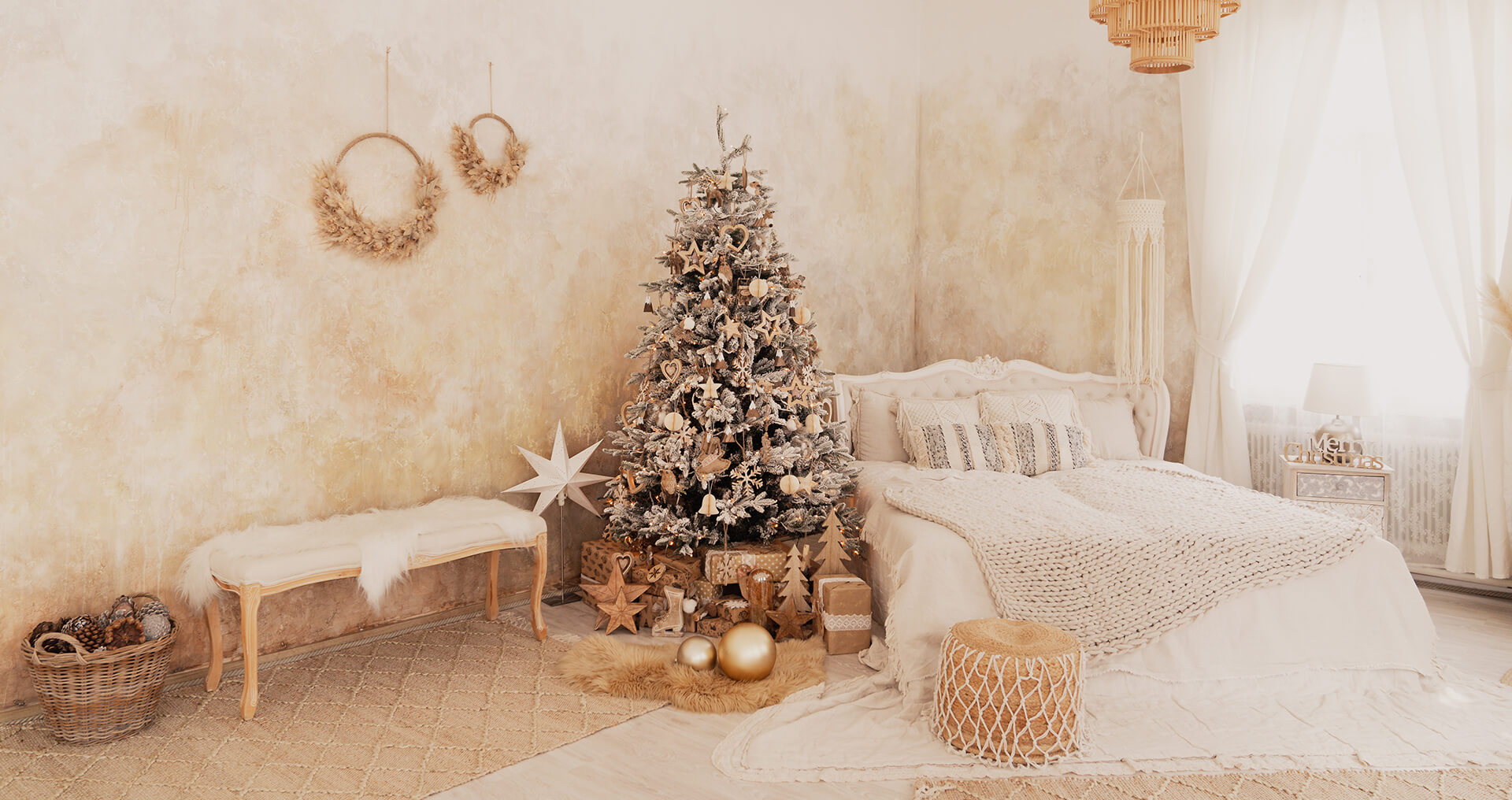 Boho Weihnachtsshooting in Wien