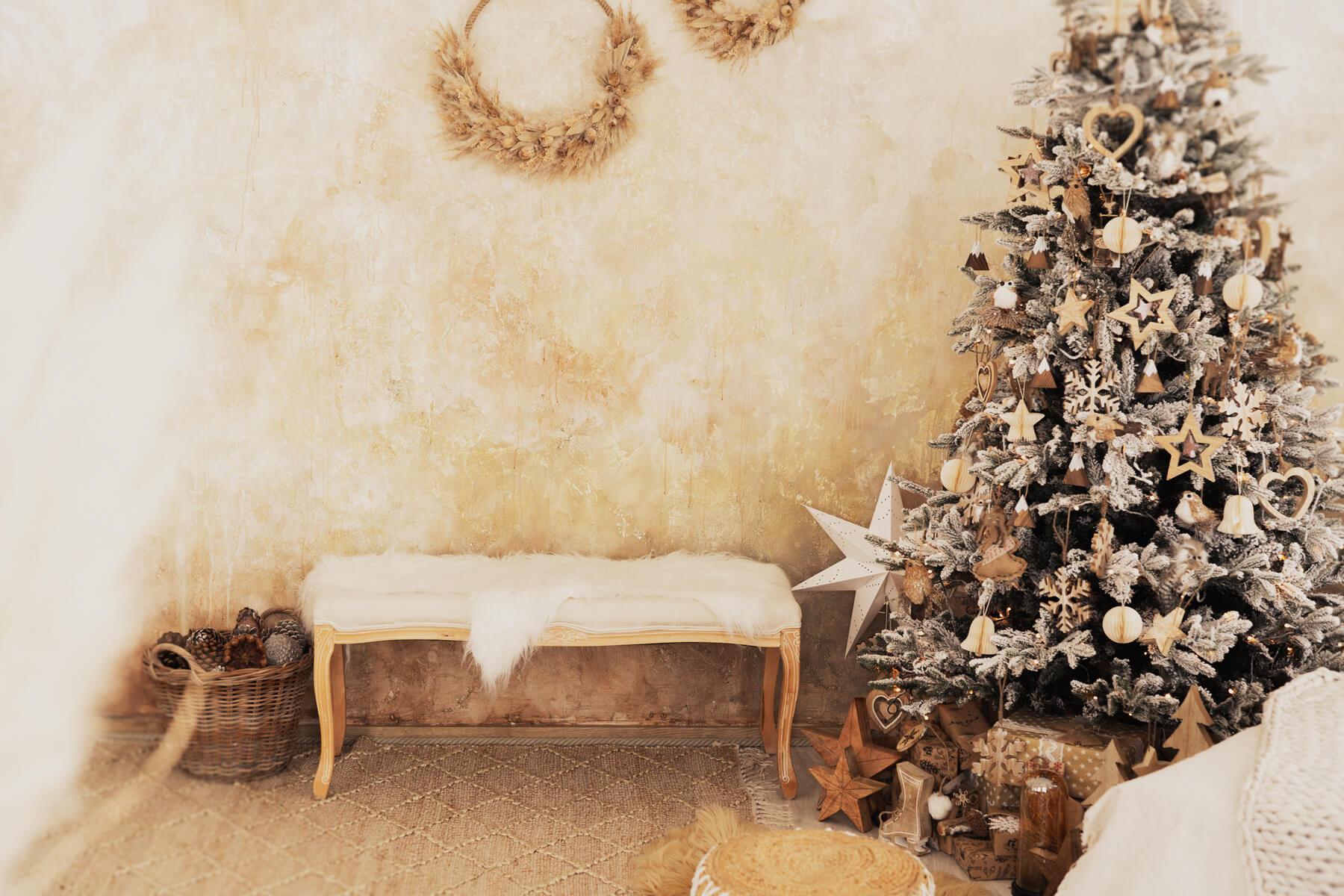 Weihnachtsshooting Boho Whitewood